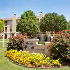 Rental info for Maple Trail Apartments in the Plano area