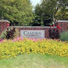 Rental info for Camden at Bloomingdale