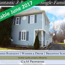Rental info for 59 Schilling Lane in the Rochester area