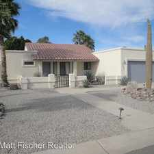 Rental info for 12403 E Del Rico in the Fortuna Foothills area