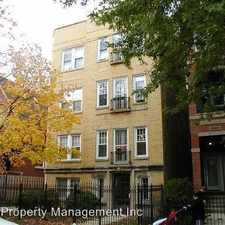 Rental info for 3626 N. Greenview #3 in the Chicago area