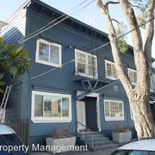 Rental info for 1717 12th St. in the Oakland area