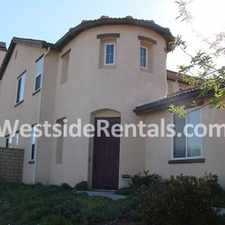 Rental info for Beautiful Large Home In Murieta