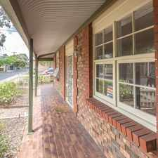 Rental info for Central Cosmopolitan City Fringe Living in the Unley area