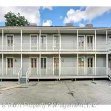 Rental info for 1025 Dumaine St. #6 in the Treme - Lafitte area