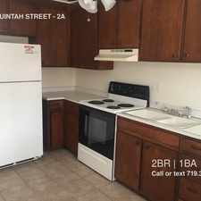 Rental info for 1936 W UINTAH STREET in the Pleasant Valley area