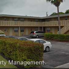Rental info for 1001 S M ST in the Lake Worth area