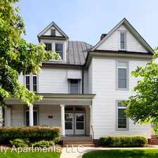 Rental info for 1121 Wertland Street in the Charlottesville area