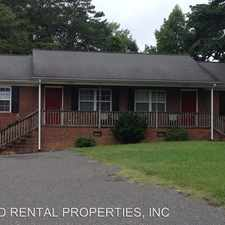 Rental info for 509A N. MCCRARY STREET in the Asheboro area