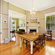Rental info for QUEENSLANDER WITH ELEGANCE AND CHARM in the Toowoomba area