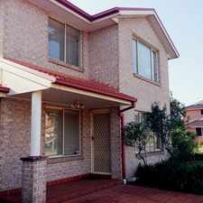 Rental info for Superb Suburb, Quality Location in the Cecil Hills area