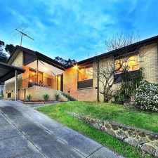 Rental info for STUNNING HOME IN PRIME LOCATION! in the Yallambie area