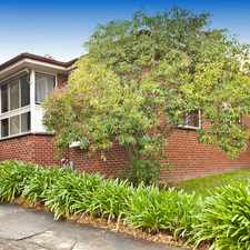 Rental info for Big unit minutes' walk to Eastland and train station in the Melbourne area