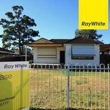 Rental info for Lovely Family Home! in the Sydney area