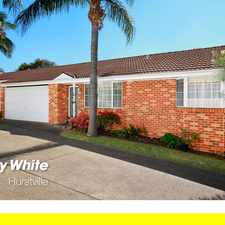 Rental info for 3 bedroom villa close to Aquatic Center in the Sydney area
