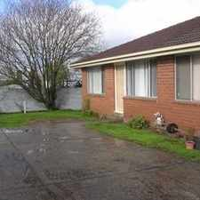 Rental info for Great Value Two Bedroom Unit in the Ballarat area