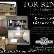 Rental info for Delaware st. - 1130