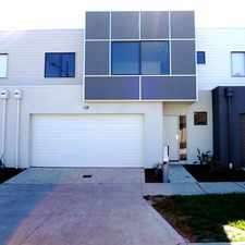 Rental info for Tantalizing Terrific Townhouse in the Melbourne area