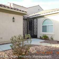 Rental info for 8660 Regatta Bay Place in the Tule Springs area
