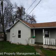 Rental info for 2100 South A Street