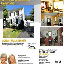 Rental info for 1891 Lawnway Road