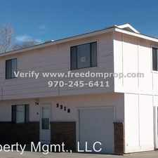 Rental info for 3210 Emerald Ct A