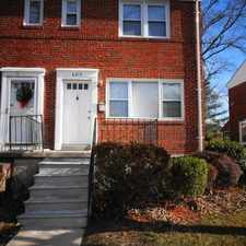 Rental info for 6213 Plymouth Road in the Baltimore area