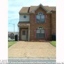 Rental info for 4220 Link Court in the Virginia Beach area
