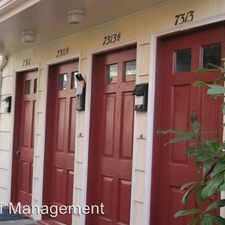 Rental info for 7311 Woodlawn Ave NE in the Green Lake area