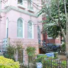 Rental info for 1828 13th Street NW Unit 1 in the U-Street area