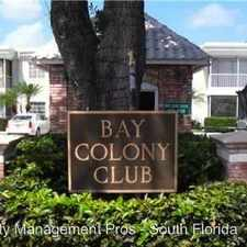 Rental info for 6239 Bay Club Drive Unit 1 in the 33060 area