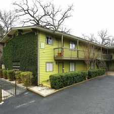 Rental info for S Congress Ave & Barton Springs Road in the Bouldin Creek area