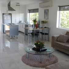 Rental info for SPACIOUS MODERN UNIT WITH 180 DEGREE TRANQUIL VIEWS in the Brisbane area