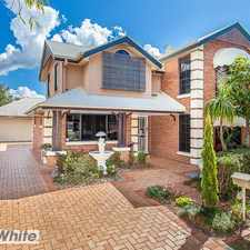 Rental info for Simply stunning 4 Bed + Study family home in the Brisbane area
