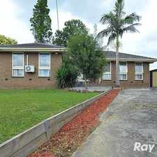Rental info for Spacious family home in ideal location