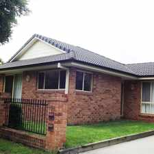 Rental info for STUNNING TOWNHOUSE in the Armidale area