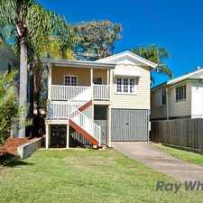 Rental info for PICTURE PERFECT RENOVATED QUEENSLANDER in the Mitchelton area