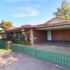 Rental info for EASY CARE HOME IN TOP END LOCATION in the Perth area
