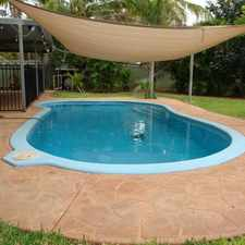 Rental info for Luscious Tropical Home, With a Pool! Approved Application