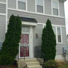 Rental info for 1905 Frederick Douglass Court, S.E. in the Congress Heights area