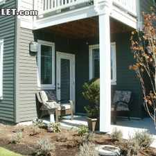 Rental info for Three Bedroom In Olympia
