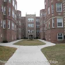 Rental info for 7018 N Sheridan Road Unit 3F in the Chicago area