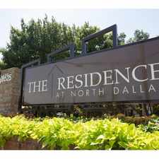 Rental info for The Residence at North Dallas Apartments in the Dallas area