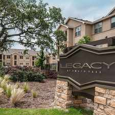 Rental info for Legacy at Southpark