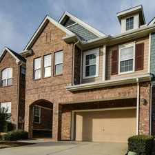 Rental info for $3500 3 bedroom Townhouse in Dallas County Irving in the Song area