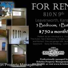Rental info for 810 N 9th St