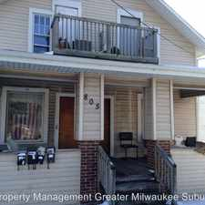 Rental info for 805 W. St. Paul Ave. - Unit #4 in the Waukesha area