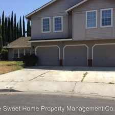 Rental info for 831 Foothill Ct.