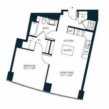 Rental info for $7380 1 bedroom Apartment in Chinatown in the Chinatown - Leather District area