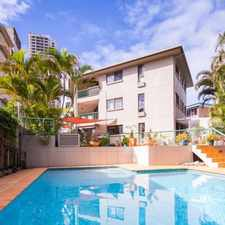 Rental info for 2 Bed 2 Bath FULLY RENOVATED - ACROSS THE ROAD FROM THE BEACH in the Surfers Paradise area